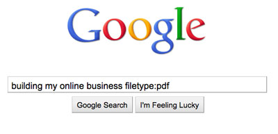 googlesearchtips specificfiletype The Answer To Every Question Youll Ever Have
